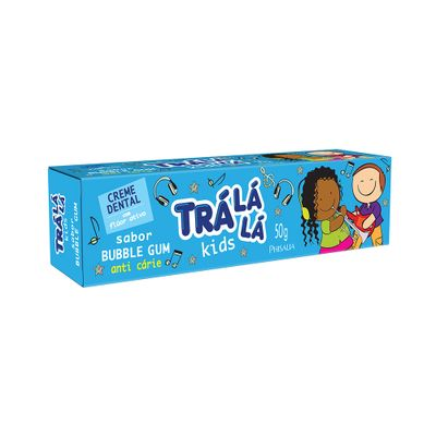 Creme-Dental-Tra-La-La-Kids-Bubble-Gum-50g