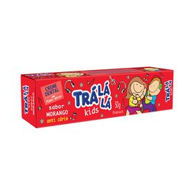 Creme-Dental-Tra-La-La-Kids-Morango-50g