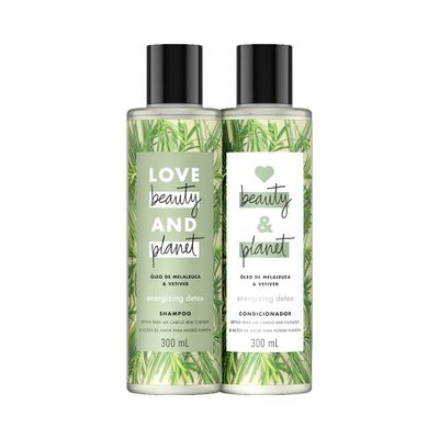 Kit-Love-Beauty-And-Planet-Shampoo---Condicionador-Energizing-Detox-300ml