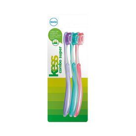 Kit-Escovas-Dentais-Kess-Super-com-3-Unidades--2101--47904.00