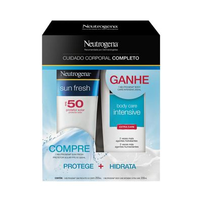 Kit-Protetor-Solar-Neutrogena-FPS50-200ml-Gratis-Hidratante-Body-Care-200ml-48091.00