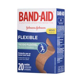 Curativo-Johnson-s-Band-Aid-Flexible-com-20-Unidades-16150.00