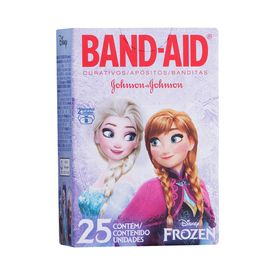 Band-Aid-Johnson-e-Johnson-Frozen-25-Unidades-7891010244842