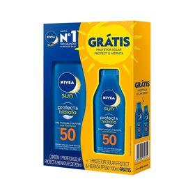 Kit-Protetor-Solar-Nivea--Sun-Fps50-200ml---Fps50-100ml-48690.00