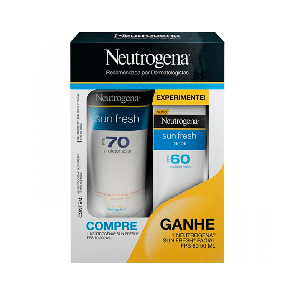 Kit-Neutrogena-Protetor-Solar-Corporal-FPS-70-200ml-Gratis-Protetor-Facial-FPS-60-50ml