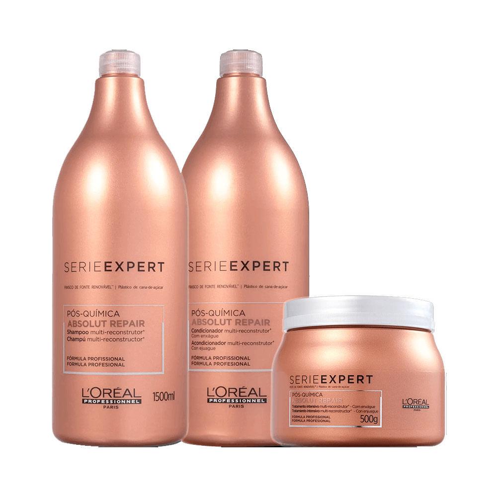 Kit-Serie-Expert-Absolut-Repair-Pos-Quimica-Shampoo---Condicionador-1500ml-com-50--de-Desconto-na-Mascara-500g-33389