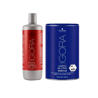Kit-Igora-Po-Descolorante-Vario-Blond-Super-Plus-450g-Gratis-Oxigenta-30-Volumes-1000ml