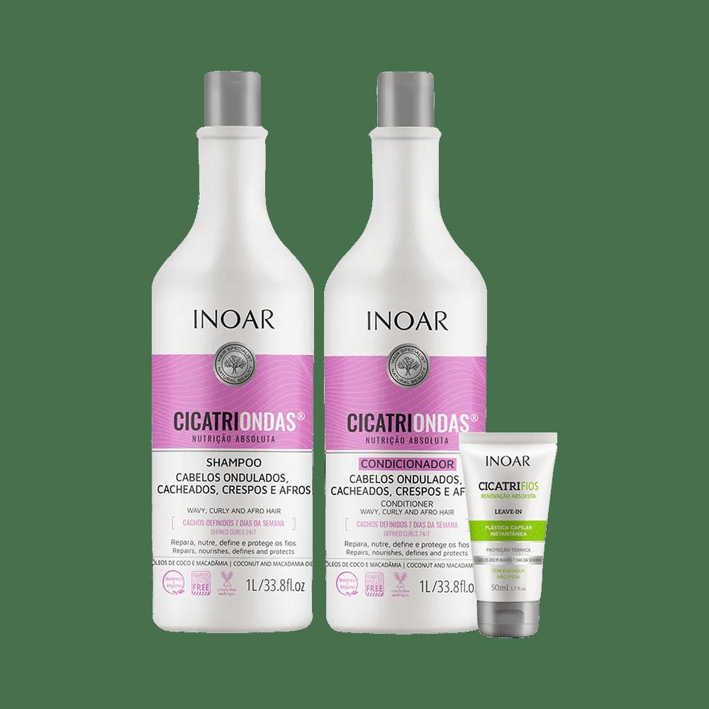 Kit-Inoar-Shampoo---Condicionador-CicatriOndas-1000ml-Gratis-Leave-in-50ml