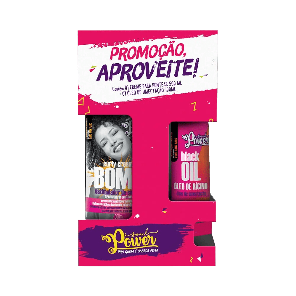 Kit-Soul-Power-Creme-de-Pentear---Oleo-Ricino