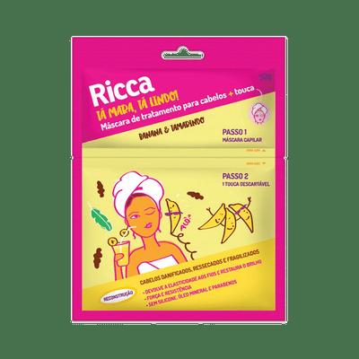 Mascara-Capilar-de-Reconstrucao-Ricca-Banana-e-Tamarindo-7897517928025