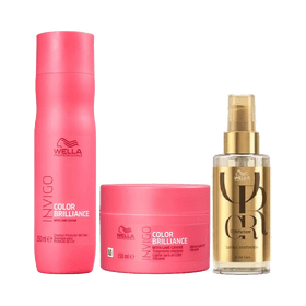 Kit-Wella-Invigo-Color-Brilliance-Shampoo-250ml---Mascara-150g---Oleo-Reflections-100ml-7898919412457