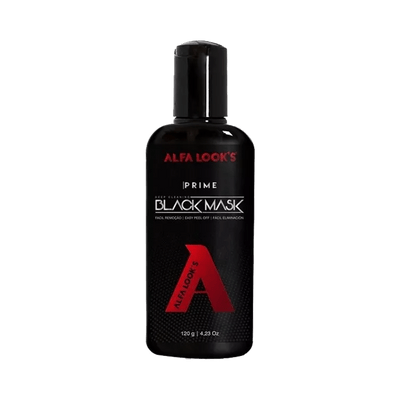 Mascara-Alfa-Looks-For-Man-Black-120g