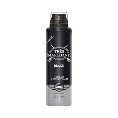 Desodorante-Tres-Marchand-Aerosol-Black-150ml-7891350033724