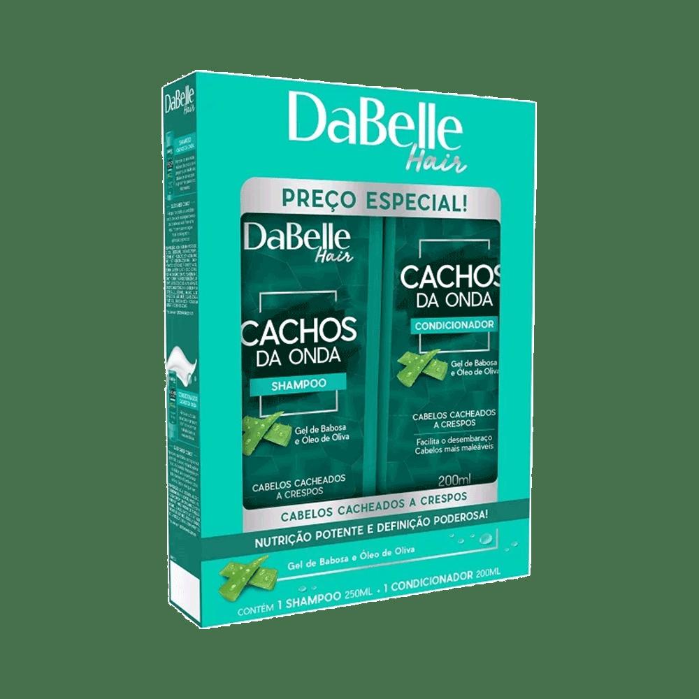Kit-Dabelle-Shampoo---Condicionador-Cachos-da-Onda-200ml