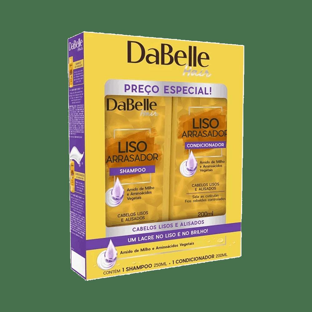 Kit-Dabelle-Shampoo---Condicionador-Liso-Arrasador-200ml