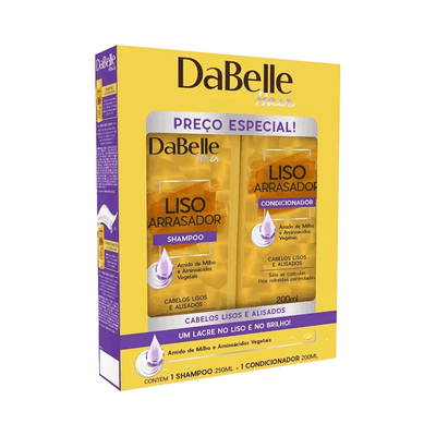 Kit-Dabelle-Shampoo---Condicionador-Liso-Arrasador-200ml
