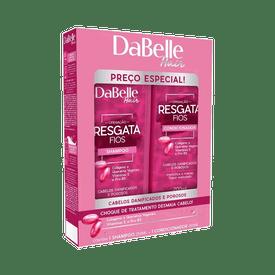 Kit-Dabelle-Shampoo---Condicionador-Resgata-Fios-200ml