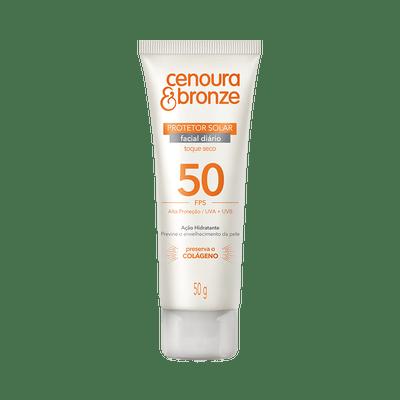Protetor-Solar-Cenoura---Bronze-Facial-50g-FPS-50-7896108560446