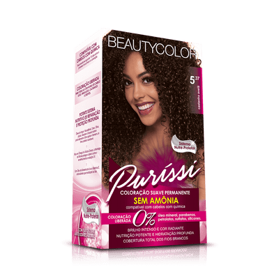 Coloracao-Beauty-Color-Purissi-5.37-Castanho-Avela-7896509956121