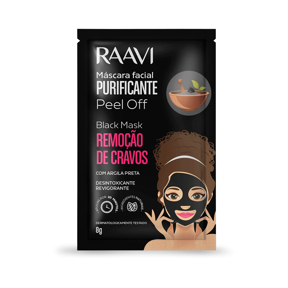 Mascara-Facial-Raavi-Black-Mask-Peel-Off-7898212285475