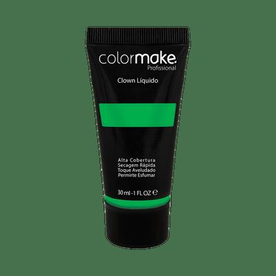 Maquiagem-Artistica-Clown-Liquido-ColorMake-Verde-30ml-7898595465822