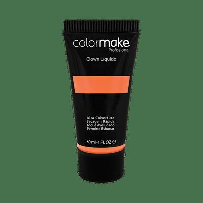 Maquiagem-Artistica-Clown-Liquido-ColorMake-Laranja-Neon-30ml-7898595465761