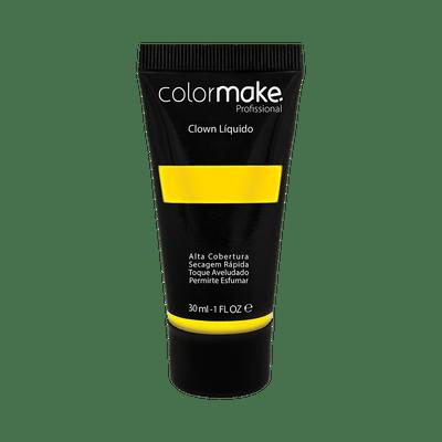 Maquiagem-Artistica-Clown-Liquido-ColorMake-Amarelo-30ml-7898595465792