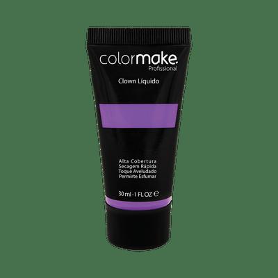 Maquiagem-Artistica-Clown-Liquido-ColorMake-Roxo-Neon-30ml-7898595465747
