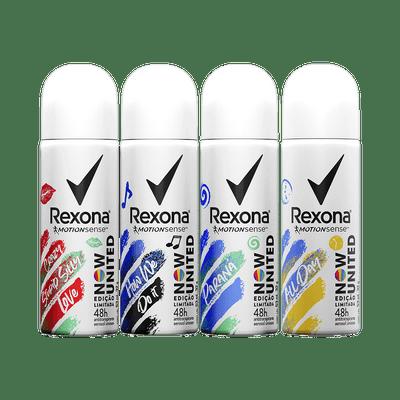 Kit-Rexona-Desodorante-Aerosol-Now-United-All-Day-2