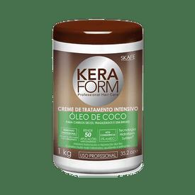 Creme-Para-Pentear-Oleo-de-Coco-Keraform-1KG-7896229902064