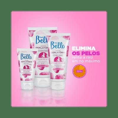 Creme-Depil-Bella-Depilatorio-Facial-para-Pele-Delicada-Petalas-de-Rosas