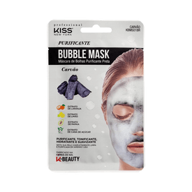 Mascara-Facial-Kiss-New-York-Bubble-Mask-Purificante-Carvao-0731509817102