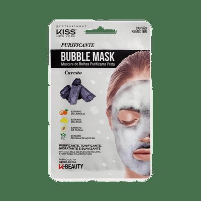 Mascara-Facial-Kiss-New-York-Bubble-Mask-Purificante-Carvao-0731509817102