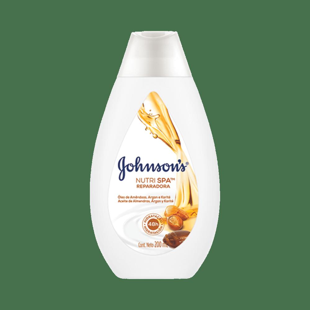 Locao-Hidratante-Johnson---Johnson-Amendoas-Argan-e-Karite-200ml-7891010247584