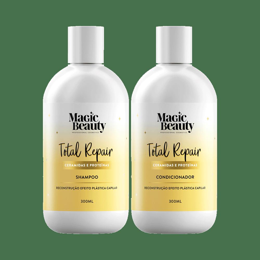 Kit-Magic-Beauty-Shampoo---Condicionador-Total-Repair-300ml