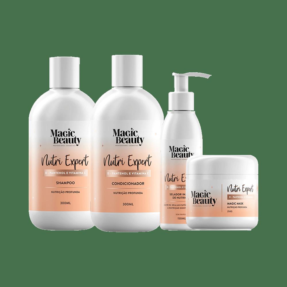 Kit-Magic-Beauty-Shampoo---Condicionador---Mascara---Leave-in-Nutri-Expert