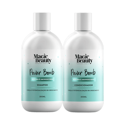 Kit-Magic-Beauty-Shampoo---Condicionador-Power-Bomb-300ml