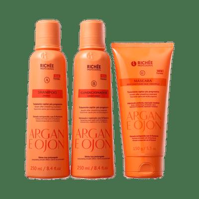 Kit-Richee-Argan-e-Ojon-Shampoo---Condicionador---Mascara-7898594741545