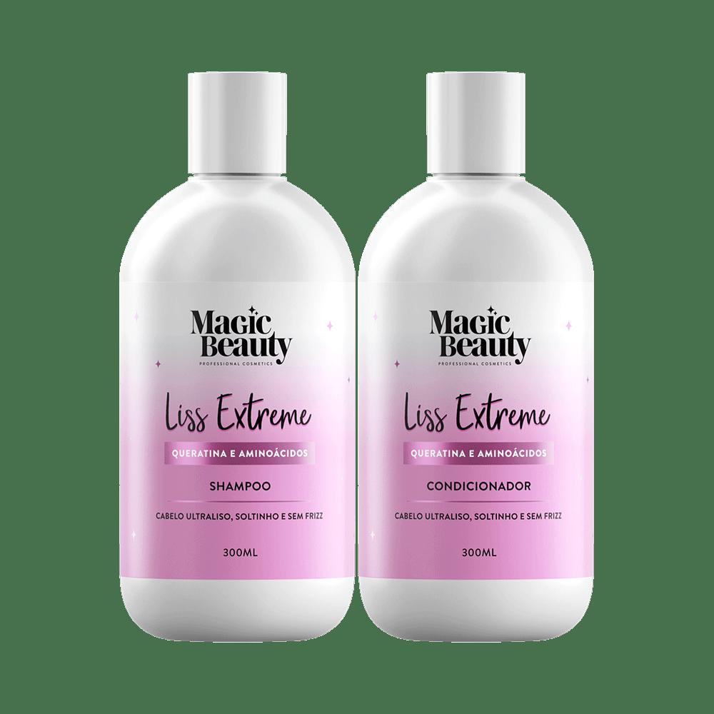 Kit-Magic-Beauty-Shampoo---Condicionador-Liss-Extreme-300ml