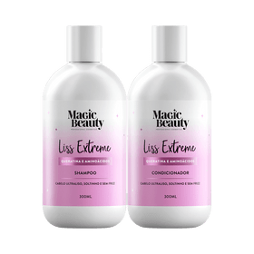 Kit-Magic-Beauty-Shampoo---Condicionador-Liss-Extreme-300ml