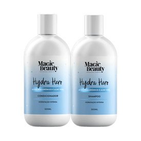 Kit-Magic-Beauty-Shampoo---Condicionador-Hydra-Hero-300ml