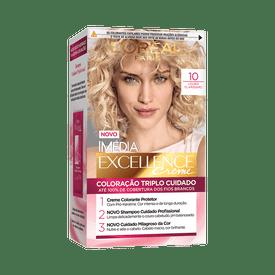 Coloracao-Imedia-Excellence-10-Louro-Clarissimo
