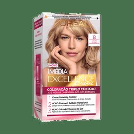Coloracao-Imedia-Excellence-8-Louro-Claro