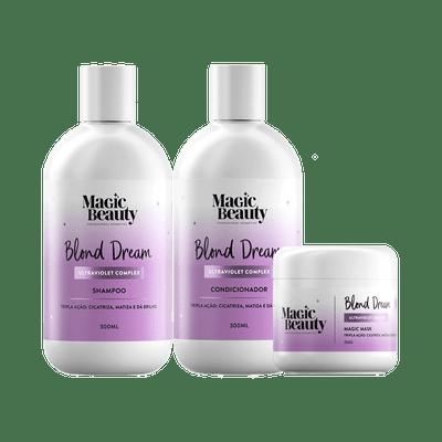 Kit-Magic-Beauty-Shampoo---Condicionador-300ml-Gratis-Mascara-Blond-Dream-250g