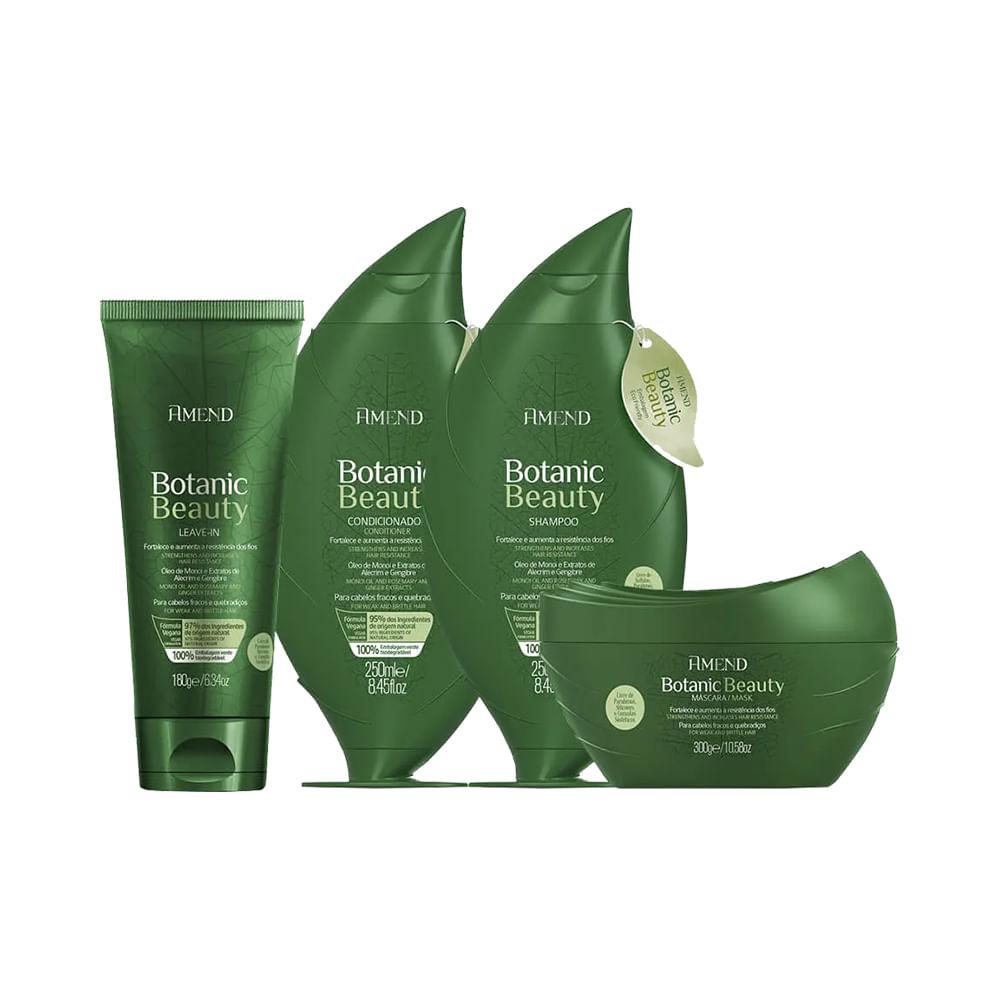 Kit-Amend-Shampoo---Condicionador---Leave-in---Mascara-Botanic-Beauty-Gengibre