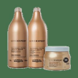 Kit-Serie-Expert-Shampoo---Condicionador-1500ml---Mascara-Absolut-Repair-Gold-Lightweight---500g