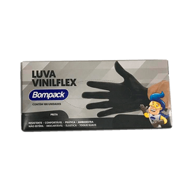 Luva-Bompack-Vinilflex-Preta-100-Unidades-P---7908026005050