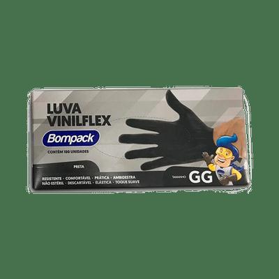 Luva-Bompack-Vinilflex-Preta-100-Unidades-GG---7908026005081