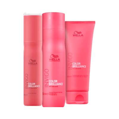 Kit-Wella-Shampoo-250ml---Condicionador-200ml---Balsamo-Invigo-Collor-Brilliance-150ml