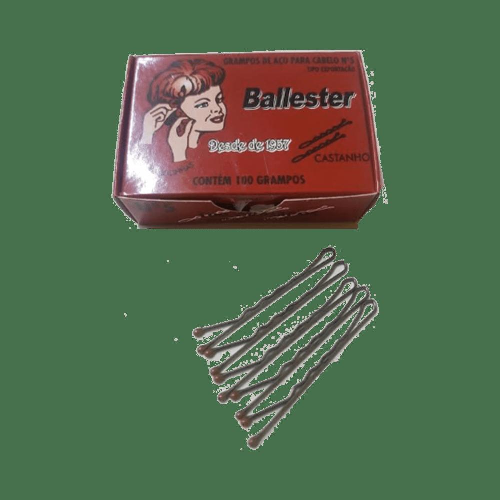 Grampo-Balesster-Nº5-Castanho-com-100-Unidades-7896556600053